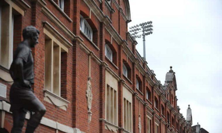 Image of the facade outside of Craven Cottage