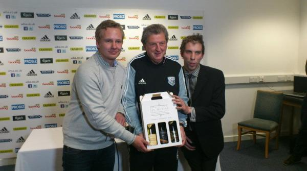 Mattias Berg, Dan Crawford, and Roy Hodgson