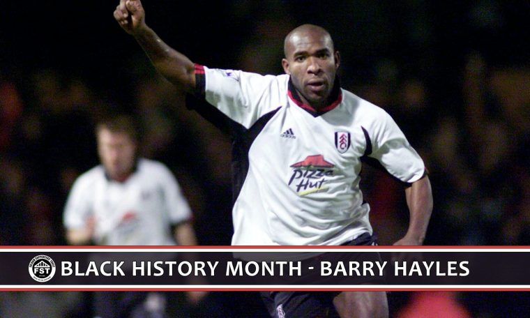 Black History Month – Barry Hayles