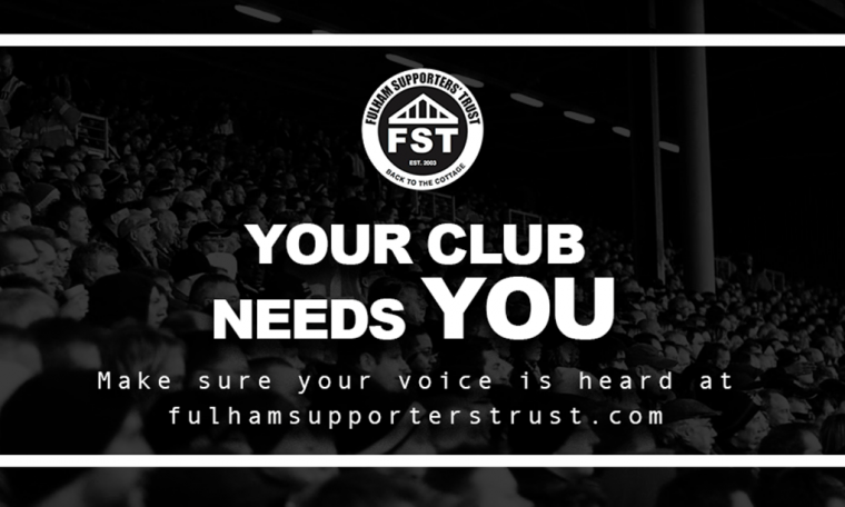 Fan Survey – Your Club Needs You