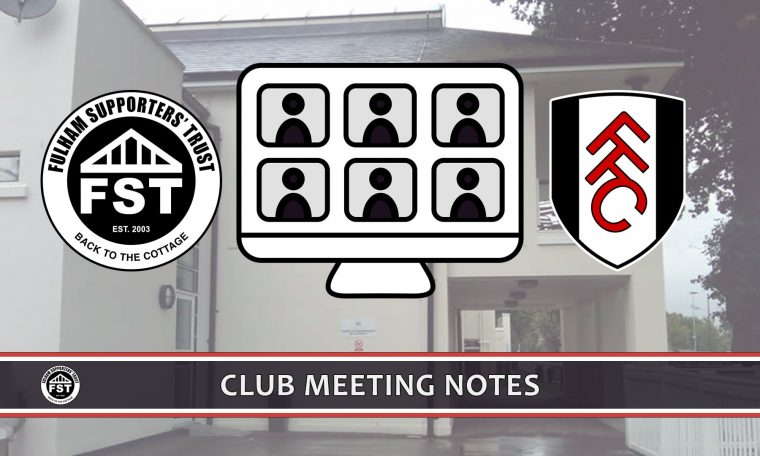 Notes from March meeting with FFC