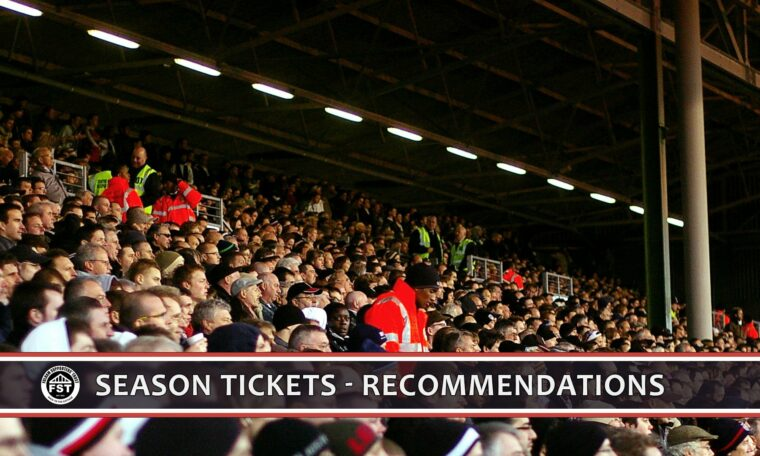 Season tickets – what you told us